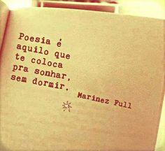 Poesia é... <3