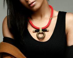 Colar Fantasia  jóias étnicas  colar africano  colar étnico