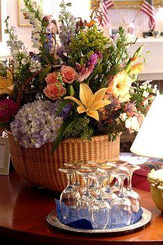 Nantucket Basket for floral