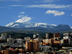 A city in the Coffee-Growers Axis, near the Nevado de Ruiz Volcano, that is known as Ciudad de Puertas Abiertas, the city of open doors. Samana, San Diego, Colombia Travel, I Want To Travel, Mount Rainier, South America, Mount Everest, Mountains, Travelling