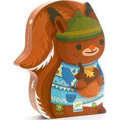 """Παζλ """"Σκιουράκι"""" Luigi, Tweety, Puzzle, Christmas Ornaments, Toys, Holiday Decor, Handmade, Fictional Characters, Silhouette"""