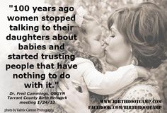 we must keep talking about birth to our daughters.