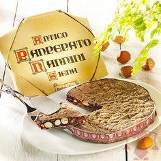 Panpepato ist eine Mischung aus Lebkuchen und Früchtebrot, verfeinert mit Pfeffer bzw. Chili - für die Liebhaber pfeffriger Noten.