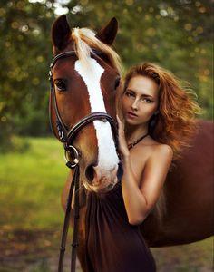 фотосессии девушки и лошади - Поиск в Google