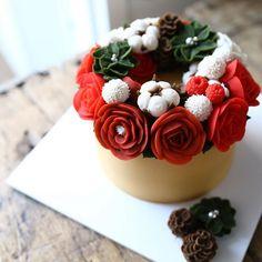 시즌이니까 4th. Basic class #maisonolivia #ricecake #whitebeanpast #whitebeanpasteflower #koreaflowercake #korearicecake #flowercake #플라워케이크 #플라워케익 #대구플라워케이크 #메종올리비아 #앙금플라워떡케이크 #앙금플라워케익 #앙금플라워케이크