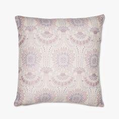 Lennol | ODELIA Ornamental design patterned cushion, light rose