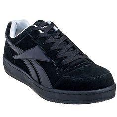 c79ccab79ef Reebok Women s Black RB191 Soyay EH Steel Toe Skateboard Work Shoes Steel  Toe Shoes