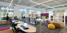 What's trending for office design in 2017? @designtrendsdotcom lists their top nine trends for the coming year; they include: flexible layout, adaptable furniture, integrated technology, productive well-being design, bringing the outdoors inside, different colors painted in different rooms, limited personal work space, co-working spaces, and separate lounge areas. Read more about each trend, and adapt them into your space this year…
