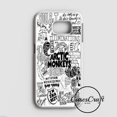 Arctic Monkeys City Samsung Galaxy S7 Edge Case | casescraft