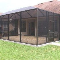 Screened Pool Patio Ideas Patio Screen Enclosure Screen Enclosures Modern Patio
