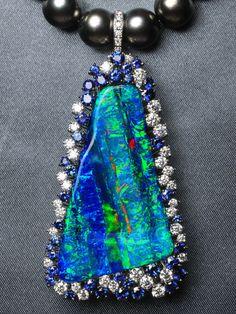 Boulder Opal Pendant | make enquiry