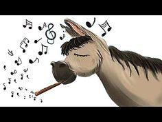 El burro flautista - Fábulas infantiles - Tomás de Iriarte - Con subtítulos - YouTube