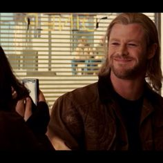 """""""Oh my God, this is going on Facebook, smile"""" ---Thor movie quote. <3"""