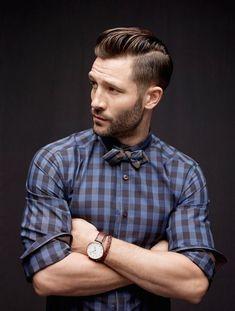 2014-09-26のファッションスナップ。着用アイテム・キーワードはチェックシャツ, ヘアスタイル, 蝶ネクタイ,etc. 理想の着こなし・コーディネートがきっとここに。| No:59311