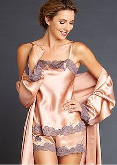 162c689bc04 Luxurious Silk Intimate Apparel. Belle LingerieSatin ...
