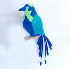 Barranquero DIY - Tres colores Kit, Sculptures, Paper Crafts, Outdoor Decor, Inspiration, Collection, Crocheting, Favorite Color, Puzzles