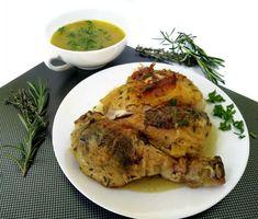Pollo asado a las hierbas, Receta Petitchef Tasty, Yummy Food, Kfc, Empanadas, Deli, Turkey, Chicken, Cooking, Recipes