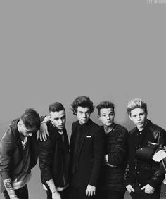 One Direction <3 I just love them so much. They can always make me happy and smile. Today I felt like crying and I put on their music and watched some interviews. They make me laugh so much and forget what I worry about for a while. Thank you boys for saving me. ♡