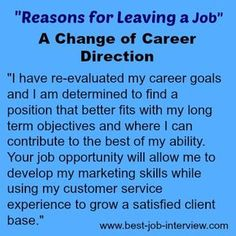 Valid reasons for leaving a job. How to explain why you want to leave your job. Best interview answers to the reason for leaving interview question. Job Interview Answers, Job Interview Preparation, Job Interview Tips, Job Interviews, Interview Techniques, Job Resume, Resume Tips, Resume Examples, Resume Review