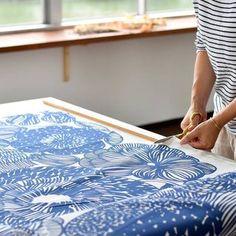 50cmと言っても布幅は倍以上ある!という場合が多いので、一般的なサイズ45cm角のクッションカバーも十分作ることができるサイズなんですよ。