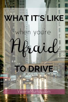 Do you know what it's like to be afraid to drive? The fear of driving is listed among the top 12 fears. I wrote this post so others will know they aren't alone! What Is Fear, What Is Like, That Way, Christian Living, Christian Faith, Christian Women, Christian Devotions, Christian Encouragement, What Is Anxiety