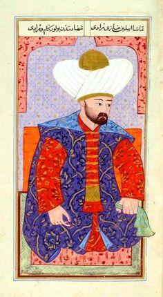 Gazi Murad Han   Temaşa eyleyin gazi muradı  Şehadetten bulur kam u muradı.