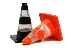 traffic cone salt & pepper pots