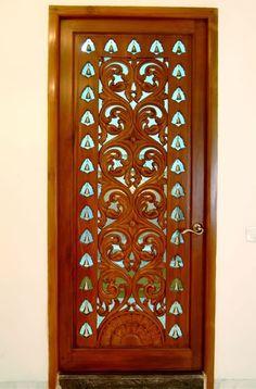 Wooden Door Design, Wooden Doors, Jaali Design, Pooja Mandir, Pooja Room Door Design, Double Entry Doors, Puja Room, Room Doors, Dream House Plans