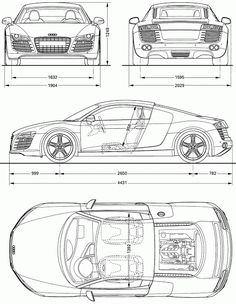 Modern super car sports car vector silhouettes outlines contours most loved car blueprints for 3d modeling cgfrog graphic web designs malvernweather Image collections