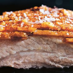 Try this Crispy Roasted Pork Belly recipe by Chef Donna Hay. This recipe is from the show Donna Hay: Basics To Brilliance.
