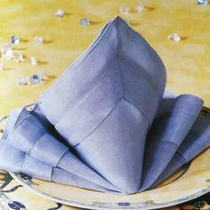 prima donna fold   napkin folding for every occasion