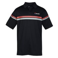 Improve your performance in this personalized patterned polo!