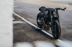 This Scrambler Ducati built by Winston Yeh of Rough Crafts was forged from the idea of lightweight design and stealth. Featured in Bike EXIF. Photographed by JL Photography. Scrambler Ducati, Scrambler Custom, Custom Cafe Racer, Scrambler Motorcycle, Motorcycles, Ducati Icon, Monster 1100, Motorcycle Saddlebags, Bike Builder