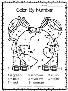 Free Earth Day printable activities