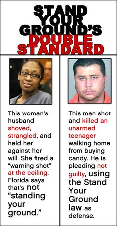 Double standards.