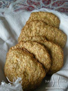 Housky Dukanova dieta Skinny Recipes, Healthy Recipes, Dukan Diet, Buckwheat, Crackers, Banana Bread, French Toast, Goodies, Breakfast