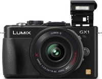 Panasonic DMC-GX1X Lumix® 16 Megapixel Compact Digital Camera with 14-42mm Premium Power Zoom Lens Kit