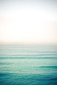 I love the vastness of the ocean.