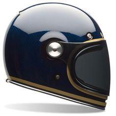 Casque Integral Bell Bullitt Carbon Candy Blue   iCasque.com