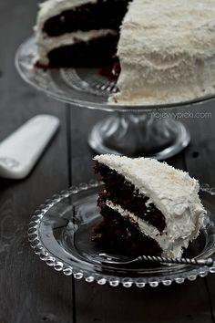 Tropikalne ciasto czekoladowe | Moje Wypieki# Amica #inteligentnystyl www.amica.com.pl
