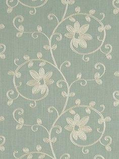 Clarke & Clarke Fabric Ashley - Duckegg  #fabrics #textiles