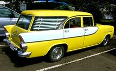 1960–1961 Holden FB Special Station Wagon.