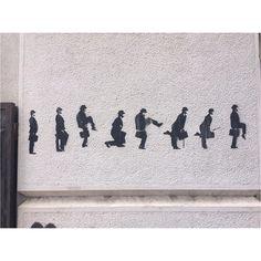 Coimbra #stree2lab #stencil #streetart by away_aliciaway