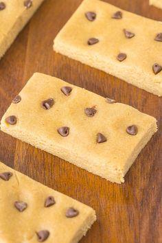 Healthy 3 Ingredient No Bake Paleo Protein Bars
