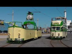 Heritage Trams In Blackpool & Fleetwood - Good Friday 18th April 2014 - YouTube