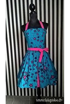 Robe Rockabilly Etoiles Wax ©Lulupidoo