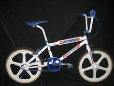 Skyway TA.Great styling ! Skyway riders were easily spotted in a pack of racers.