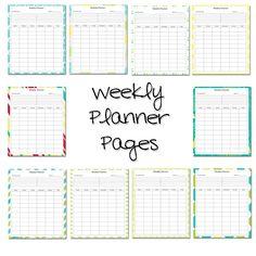 LAWTEEDAH: Weekly Lesson Planner