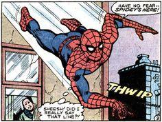From Peter Parker #63. Script: Bill Mantlo. Art: Greg Larocque.