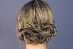 Prepping for the holidays is hard. From school parties to family gatherings, the last thing on your mind is your hair, which is why this updo is the perfect solution for looking pulled together fast without much effort. No time to wash? No problem—this style works great on dirty hair and even helps conceal oily roots.